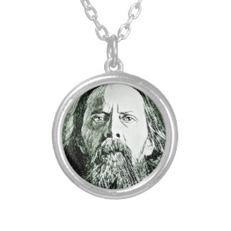 Saltykov Shchedrin Silver Plated Necklace