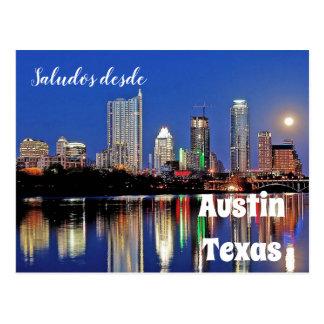 Saludos desde Austin Texas - postcard