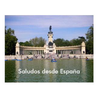 Saludos desde España 3 Postcard