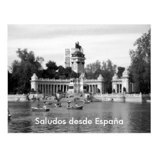 Saludos desde España Postcard