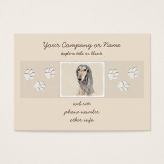 Saluki (Fawn) Business Card