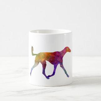 Saluki in watercolor coffee mug