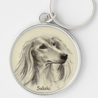 SALUKI KEY RING