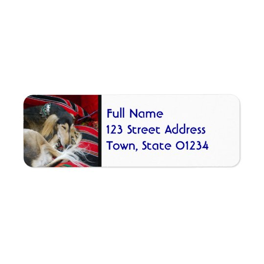 Saluki  Mailing Labels