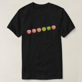 SALUT! type-1 black (for dark background color) T-Shirt