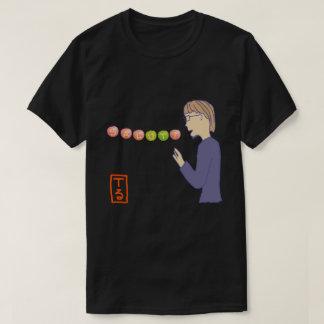 SALUT! type-5 black (for dark background color) T-Shirt