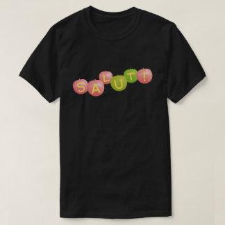 SALUT! type-6 black (for dark background color) T-Shirt