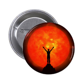 Salutation To The Sun Button / Badge
