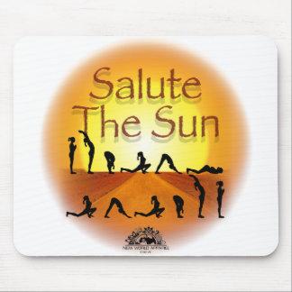 Salute the Sun Mouse Pad