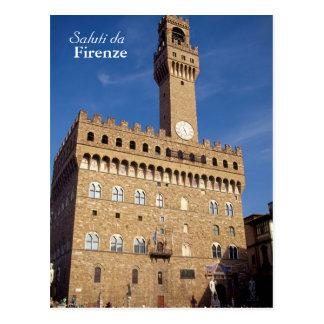 """Saluti da Firenze"" postcard"