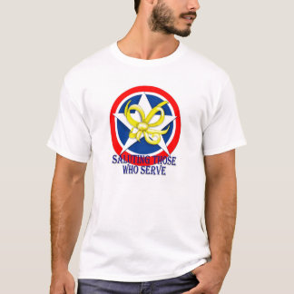 Saluting Those Who Serve T-Shirt