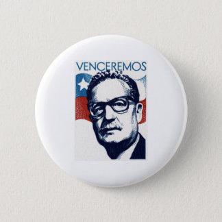 Salvador Allende - Venceremos 6 Cm Round Badge