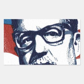 Salvador Allende - Venceremos Rectangular Sticker