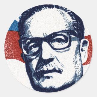 Salvador Allende - Venceremos Round Sticker