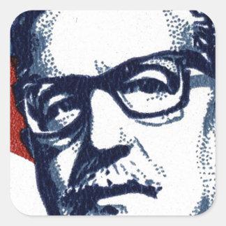 Salvador Allende - Venceremos Square Sticker
