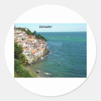 salvador-brazil-[kan.k].JPG Round Stickers