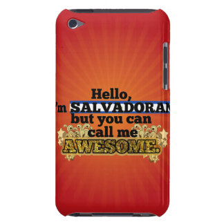 Salvadoran, but call me Awesome iPod Touch Case-Mate Case