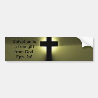 Salvation Bumper Sticker