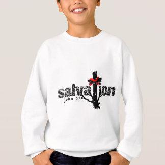 Salvation John 3:16 Christian Sweatshirt