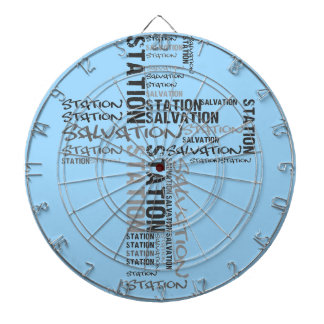 salvation station dartboard