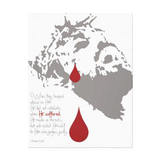 Salvation Tears Canvas Print