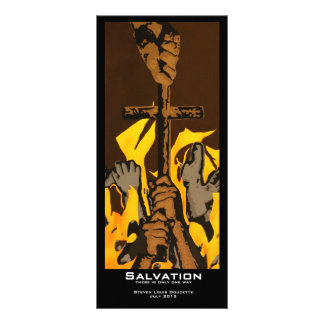 """Salvation"" Value Bookmarks Rack Card"