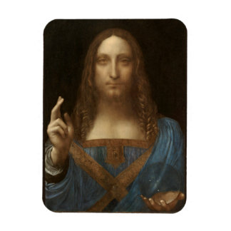 Salvator Mundi by Leonardo da Vinci circa 1500 Magnet