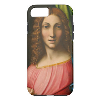 Salvator Mundi, c. 1515 (oil on panel) iPhone 7 Case