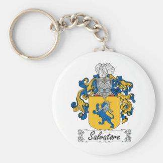 Salvatore Family Crest Key Ring