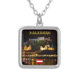 Salzburg Austria - High Quality Pro Photo Silver Plated Necklace