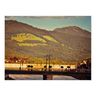 Salzburg bridge personalized invites