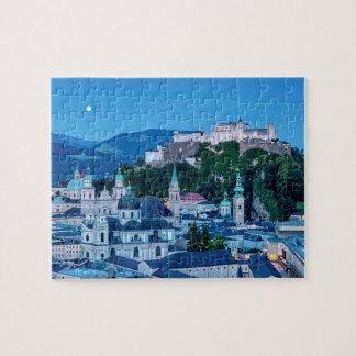 Salzburg city, Austria Jigsaw Puzzle