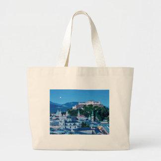 Salzburg city, Austria Large Tote Bag