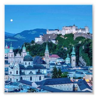 Salzburg city, Austria Photo Print