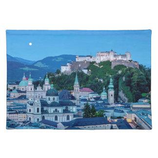 Salzburg city, Austria Placemat
