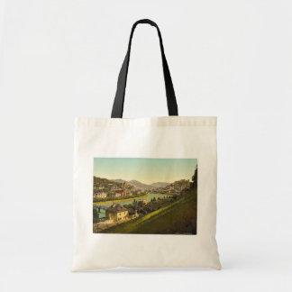 Salzburg, general view, Austro-Hungary rare Photoc Bag