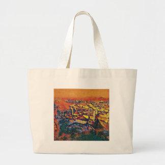 Salzburg In Art Large Tote Bag
