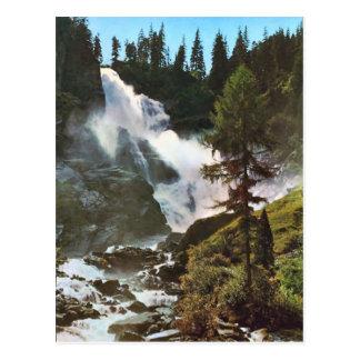 Salzburg, Oberber Krimmler Wasserfalle Postcard