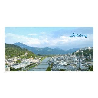 Salzburg Custom Photo Card