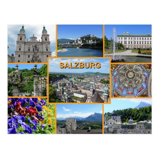 Salzburg Post Cards