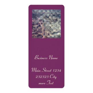 Salzburg,Vintage Look 10 Cm X 24 Cm Invitation Card