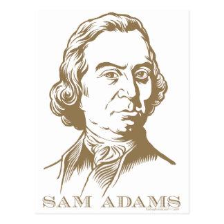 Sam Adams Postcard