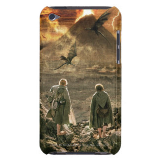 Sam and FRODO™ Approaching Mount Doom iPod Touch Cases