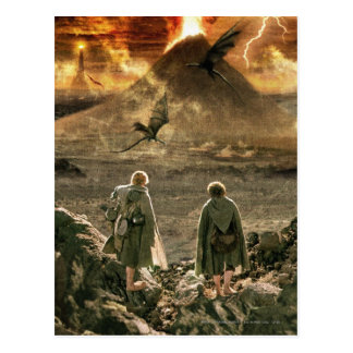 Sam and FRODO™ Approaching Mount Doom Postcard