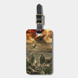 Sam and FRODO™ Approaching Mount Doom Travel Bag Tag