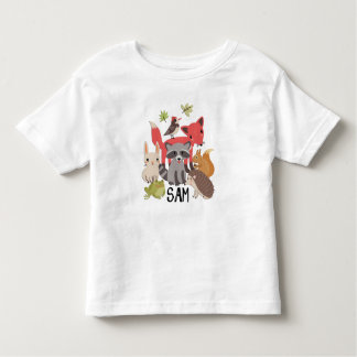 "Sam ""animals in my yard"" toddler T-Shirt"