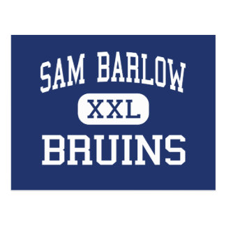 Sam Barlow - Bruins - High School - Gresham Oregon Postcard