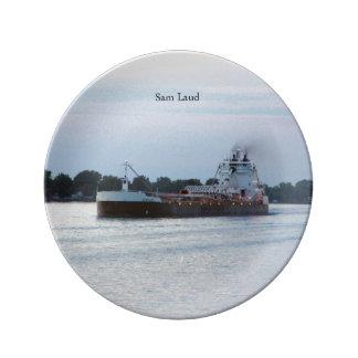 Sam Laud decorative plate