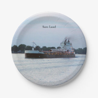 Sam Laud paper plate