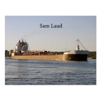 Sam Laud post card